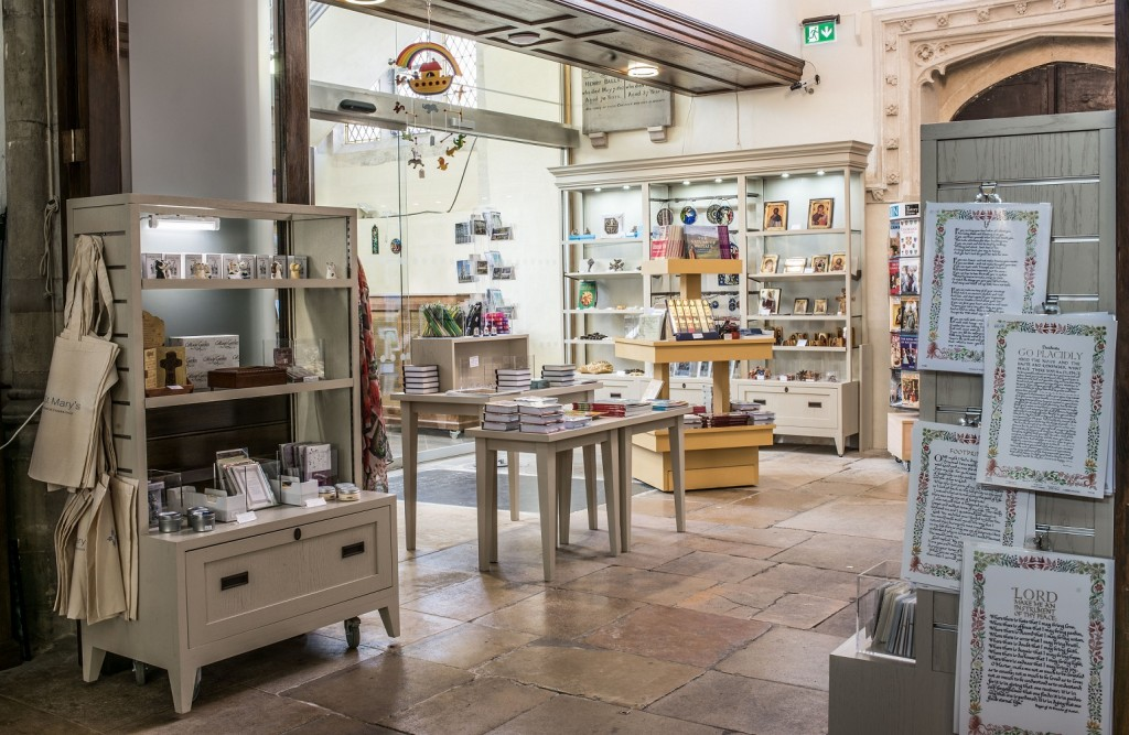 Part-time Shop Assistants wanted for the Great St Mary's Gift Shop